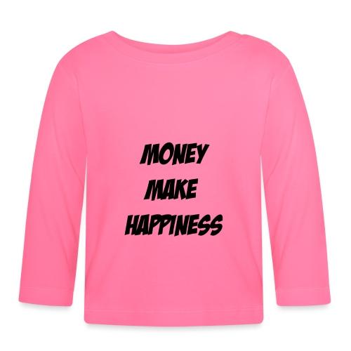 Money Make Happiness - Maglietta a manica lunga per bambini
