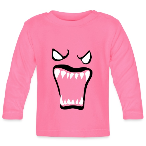 Monsters running wild - Långärmad T-shirt baby