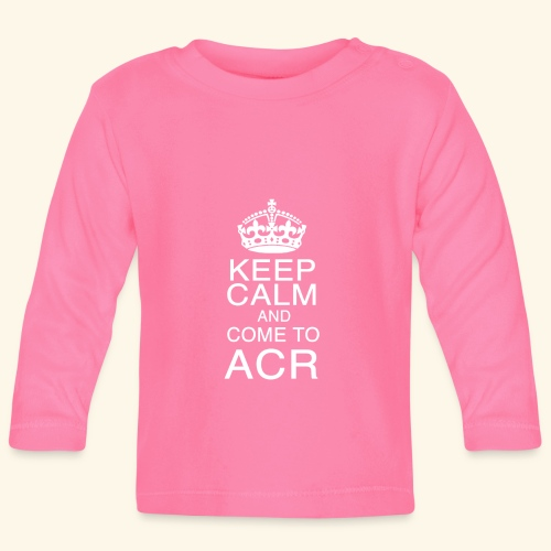keep calm - Maglietta a manica lunga per bambini