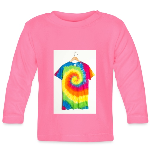 tie die small merch - Baby Long Sleeve T-Shirt