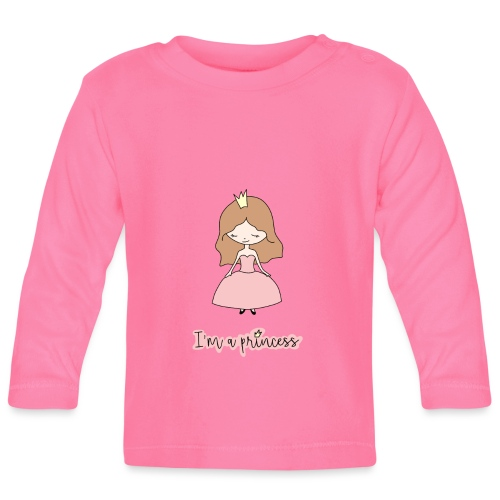 I'm a Princess - Maglietta a manica lunga per bambini