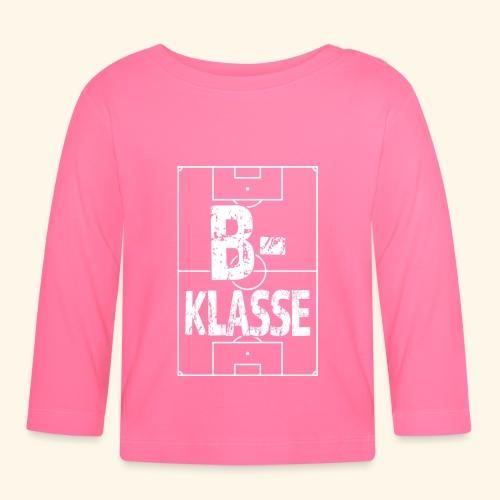 B-Klasse im Fußballfeld - Baby Langarmshirt