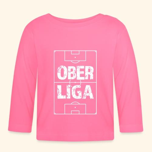 OBERLIGA im Fußballfeld - Baby Langarmshirt