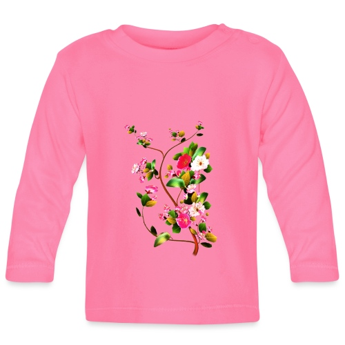 Cherry blossoms - Baby Long Sleeve T-Shirt