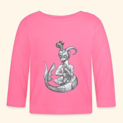 Frankensteins drake - Långärmad T-shirt baby