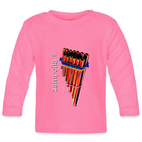 Zampoña - Camiseta manga larga bebé