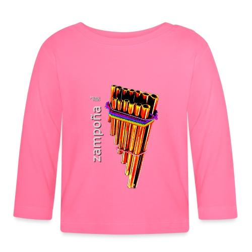 Zampoña clara - T-shirt manches longues Bébé