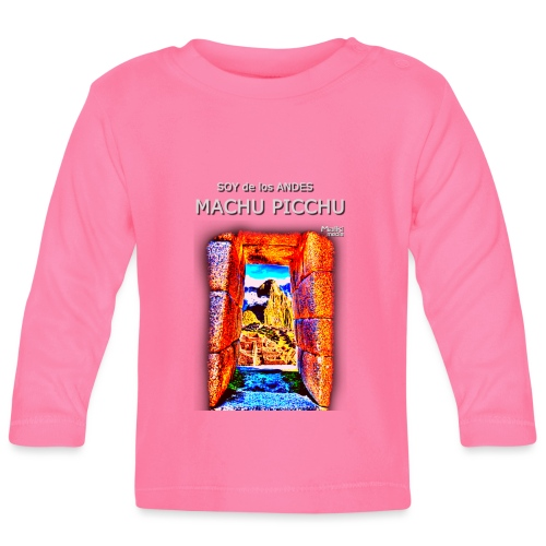 SOY de los ANDES - Machu Picchu I - T-shirt manches longues Bébé