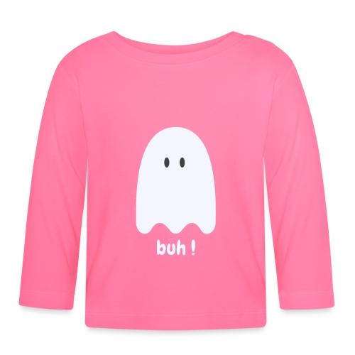 Buh ! - Langærmet babyshirt