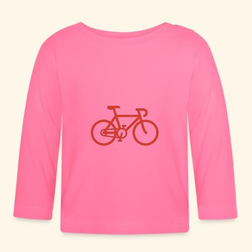 Rennrad, Race-Bike, Fahrrad - Baby Langarmshirt