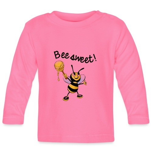 Bees7-2 Bienen sind süß | save the bees - Baby Long Sleeve T-Shirt