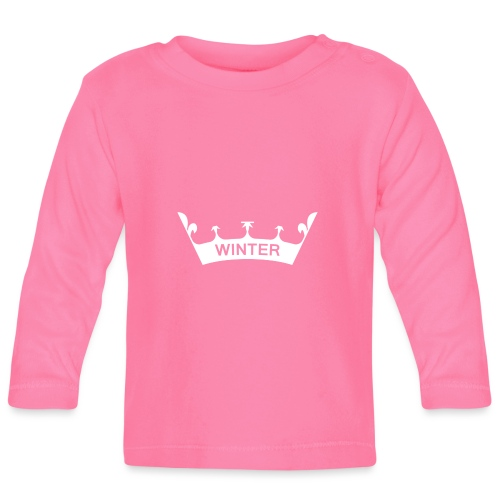Krone Winter - Baby Langarmshirt