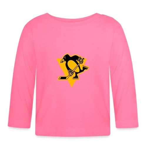 Pittsburgh Penguins Stadium Series Logo PIT - Vauvan pitkähihainen paita