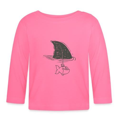 Tiburón - Camiseta manga larga bebé