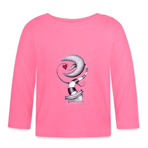 Carnivora Pianta Mangia Amore - Maglietta a manica lunga per bambini