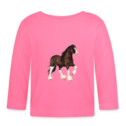 Shire Horse - Baby Langarmshirt