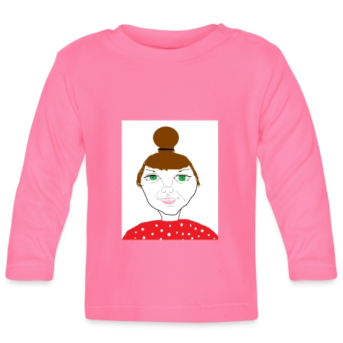Bonny with a bun - Långärmad T-shirt baby