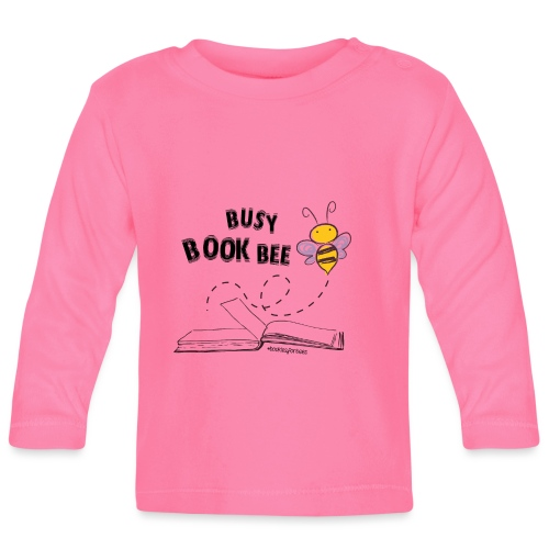 Bees5-1Bienen und Bücher | save the bees - Baby Long Sleeve T-Shirt