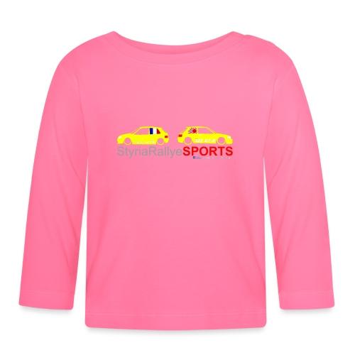 SRS Logo Saxo 2 freigestellt png - Baby Langarmshirt