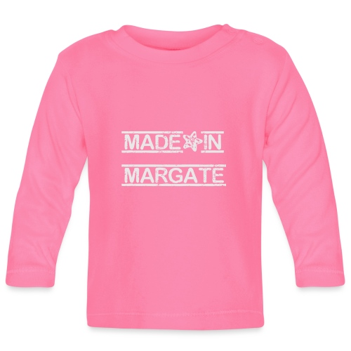 Made in Margate - White - Baby Long Sleeve T-Shirt