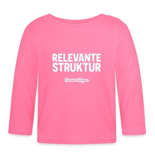 Relevante Struktur - Baby Langarmshirt