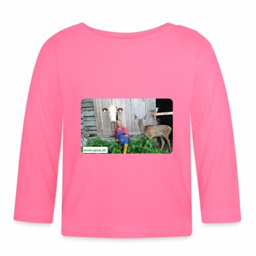 SenSi ♥ Hilfsprojekt für Kühe - Baby Langarmshirt