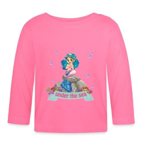 SIRENA SENTADA - Camiseta manga larga bebé