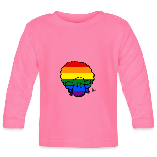Rainbow Pride Sheep - Maglietta a manica lunga per bambini
