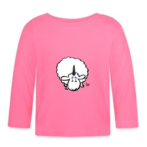 Ewenicorn - it's a rainbow unicorn sheep! - Baby Long Sleeve T-Shirt