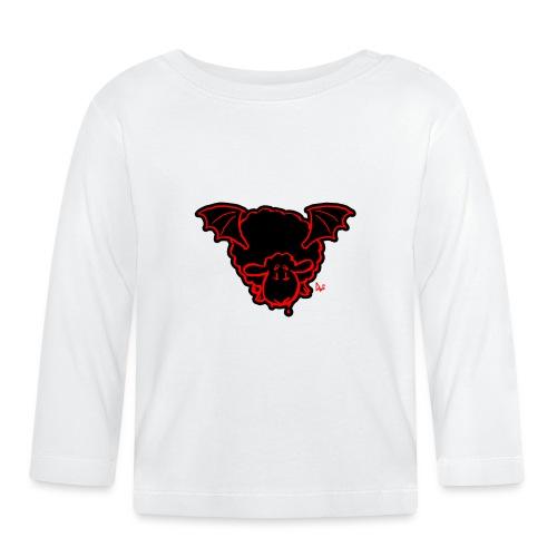 Vampire Sheep (red) - Baby Langarmshirt