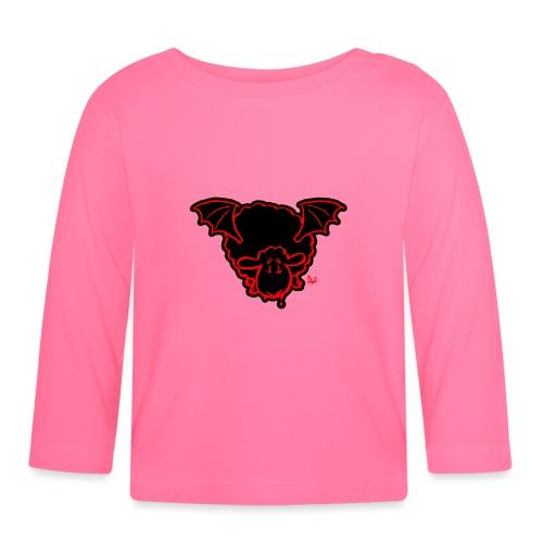 Vampire Sheep (red) - Langarmet baby-T-skjorte