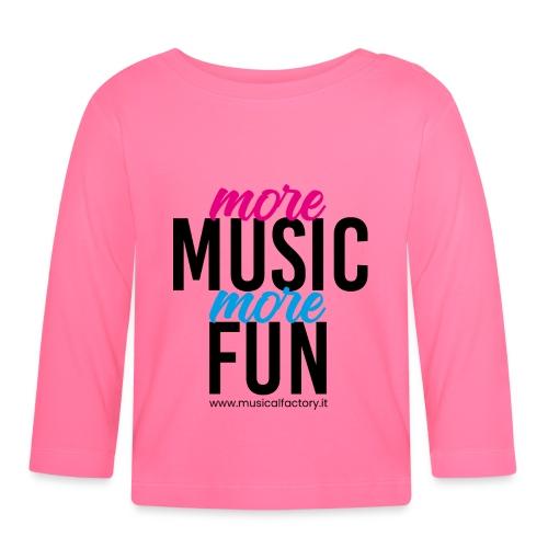 More Music More Fun - Maglietta a manica lunga per bambini