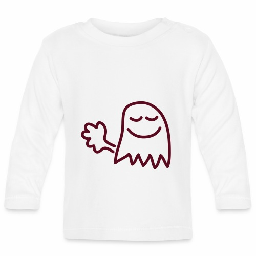 Farts are little ghosts... - Baby Long Sleeve T-Shirt