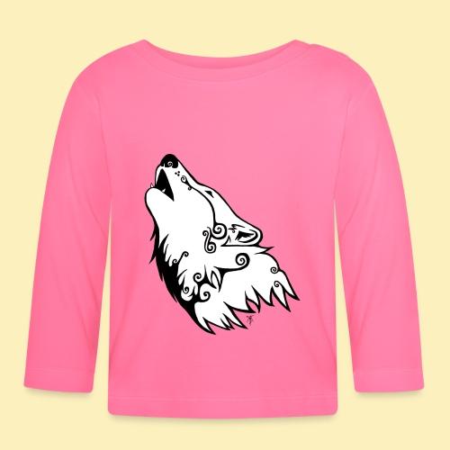 Le Loup de Neved (version blanche) - T-shirt manches longues Bébé