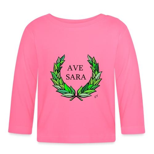 AVE SARA nome nascita modificabile a richiesta - Maglietta a manica lunga per bambini