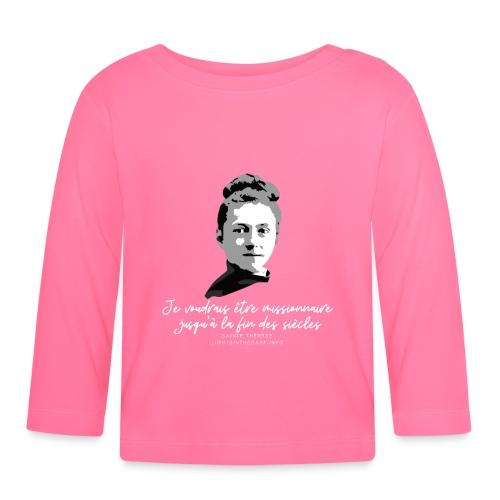 Sainte Therese patronne des missions - T-shirt manches longues Bébé