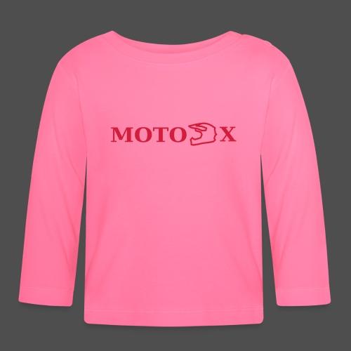 moto x - Koszulka niemowlęca z długim rękawem