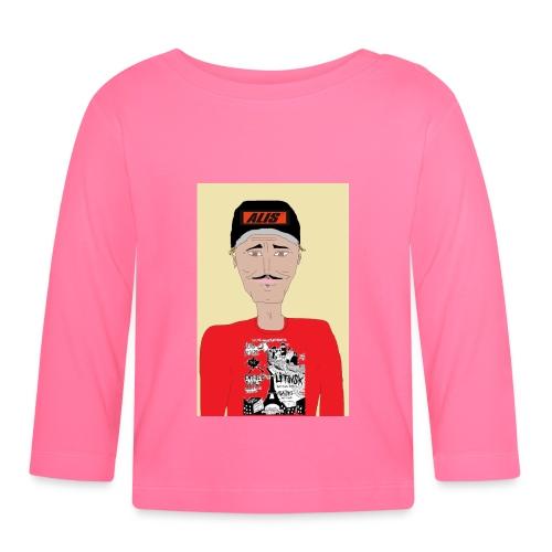 French skater DJ AM - Långärmad T-shirt baby