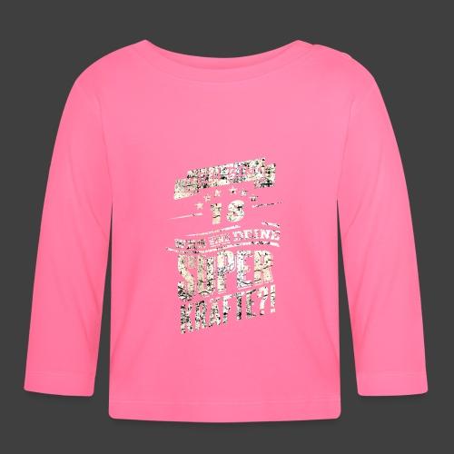 Superkraefte 18. Geburtstag - Baby Langarmshirt
