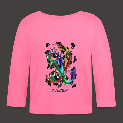 Poisson multi-color - T-shirt manches longues Bébé