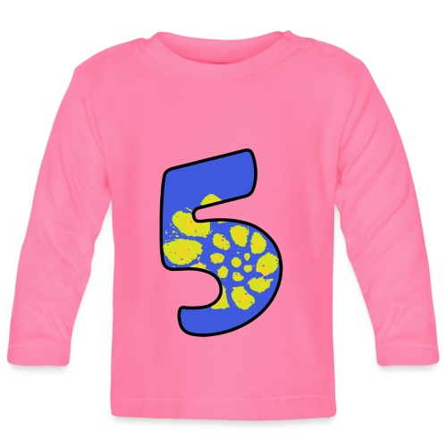 Just 5 - Baby Long Sleeve T-Shirt