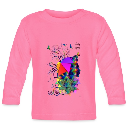 Lady color -by- T-shirt chic et choc - T-shirt manches longues Bébé