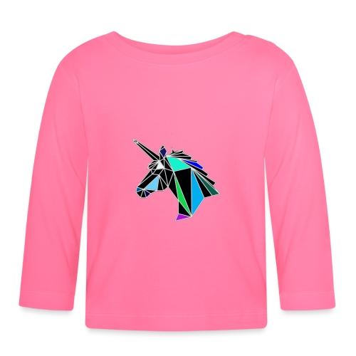 unicorno - Maglietta a manica lunga per bambini
