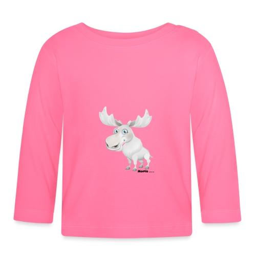 Albino elg - Langarmet baby-T-skjorte