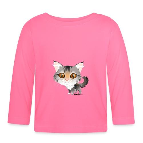 Kissa - Vauvan pitkähihainen paita