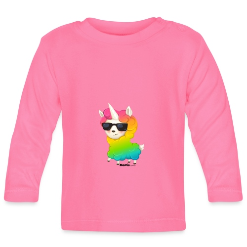 Rainbow animo - Vauvan pitkähihainen paita