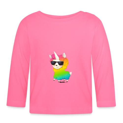 Regenbogenanimation - Baby Langarmshirt