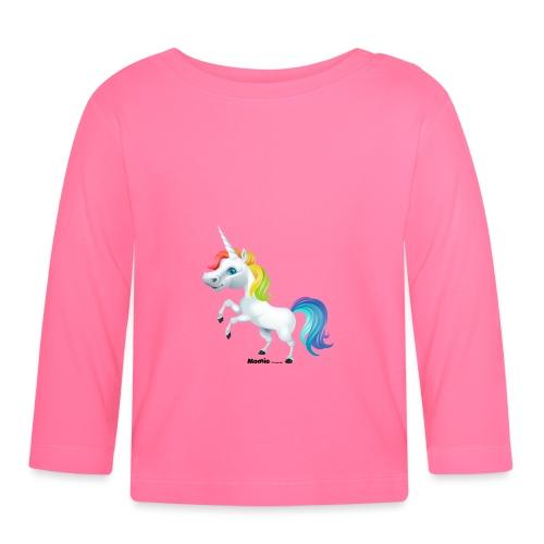 Rainbow yksisarvinen - Vauvan pitkähihainen paita