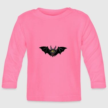 pipistrello - Maglietta a manica lunga per bambini
