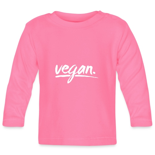 vegan - simply vegan ! - Baby Langarmshirt
